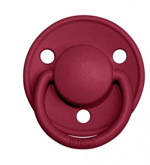 BIBS Delux Silicone Ruby