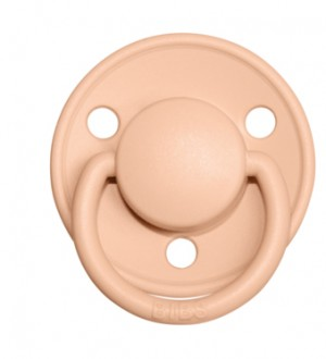 BIBS Delux Silicone Peach Sunset